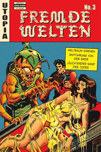 Fremde Welten (Strange Worlds, Space Detective), Band 3, ilovecomics  Verlag