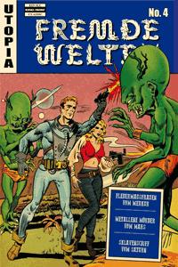 Fremde Welten (Strange Worlds, Space Detective), Band 4, Fledermausfrauen des Merkur