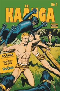 KAÄNGA [jungle comics] [dschungel], Band 1, ilovecomics  Verlag