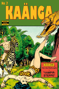 KAÄNGA (Jungle Comics), Band 2, ilovecomics  Verlag