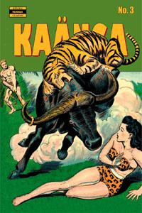 KAÄNGA (Jungle Comics), Band 3, Die Blutspur des gesichtslosen Monsters