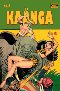KAÄNGA (Jungle Comics), Band 8, ilovecomics  Verlag