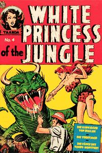 White PRINCESS of the Jungle, Band 4, Die Kopfjäger von Bullah
