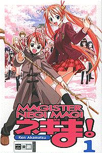 Magister Negi Magi, Band 1, Der junge Lehrer ist ein Zauberer, . . .