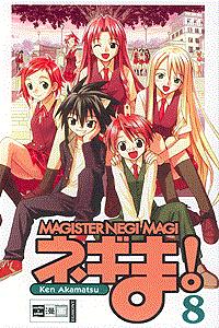 Magister Negi Magi, Band 8, Egmont Manga & Anime