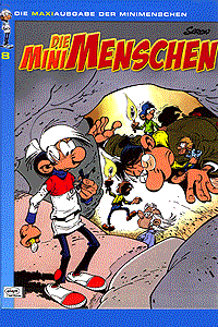 Die Minimenschen - Maxiausgabe, Band 8, Ehapa Comic Collection