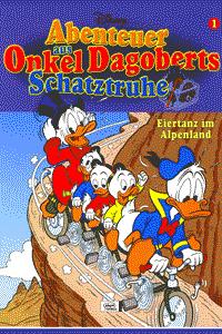 Abenteuer aus Onkel Dagoberts Schatztruhe, Band 1, Eiertanz im Alpenland