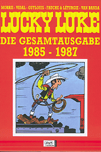 Lucky Luke - Gesamtausgabe 1985 - 1987, Band 19, Ehapa Comic Collection