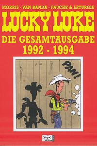 Lucky Luke - Gesamtausgabe 1992 - 1994, Band 21, 1992 - 1994