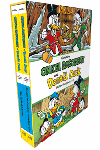 Onkel Dagobert und Donald Duck - Don Rosa Library | Bibliothek, Schuber | Band 1 + 2, Egmont Comic Collection