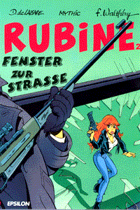 Rubine, Band 2, Epsilon Comics