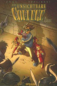 Das unsichtbare College, Band 1, Epsilon Comics