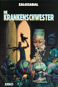 Die Krankenschwester, Einzelband, Erko Verlag