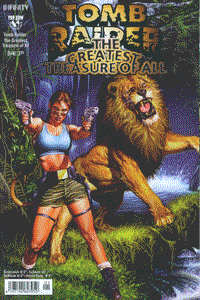 Tomb Raider: The Greatest Treasure, Variante Cover 2, The Greatest Treasure of All