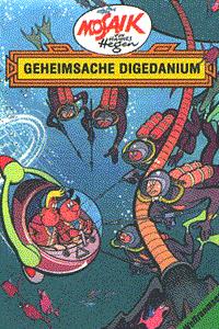 Mosaik Hannes Hegen - Weltraumserie, Band 3, Geheimsache Digedanium