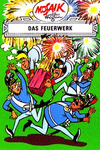 Mosaik Hannes Hegen - Erfinder-Serie, Band 8, Das Feuerwerk