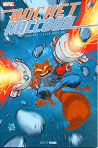 ROCKET RACCOON, Band 1 Fell-Variant, Marvel/Panini Comics