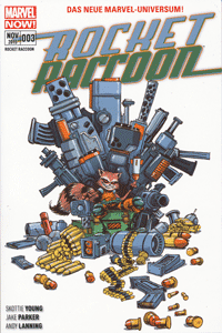 ROCKET RACCOON, Band 3, Marvel/Panini Comics