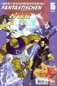 Die ultimativen Fantastischen Vier, Band 15, X-Men, Die Fantastischen Vier (Teil 1 und 2)