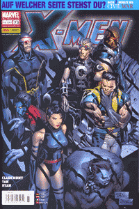 X-Men, Band 73, Wandelstern (Teil 1 - 3)