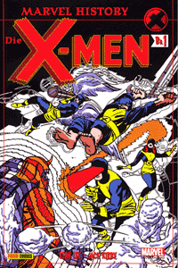 Marvel History: X-Men, Band 1, Marvel/Panini Comics