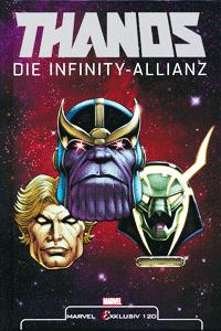 MARVEL EXKLUSIV 120 | THANOS lim. HARDCOVER, Einzelband, Die Infinity - Allianz