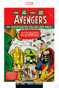 MARVEL KLASSIKER: AVENGERS lim. Hardcover, Band 1, Marvel/Panini Comics