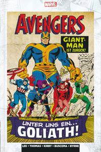 MARVEL KLASSIKER: AVENGERS lim. Hardcover, Band 2, Marvel/Panini Comics