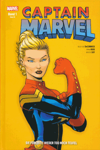 CAPTAIN MARVEL lim. Hardcover, Band 1, Marvel/Panini Comics