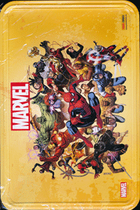 MARVEL VARIANT-METALLBOX, Comicbox, Marvel/Panini Comics