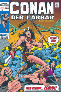 Comicbuch | CONAN der Barbar | Classic Collection, Band 1, Panini Comics