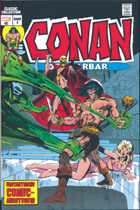 Comicbuch | CONAN der Barbar | Classic Collection, Band 2, Panini Comics