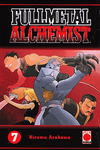 Fullmetal Alchemist, Band 7, Planet Manga