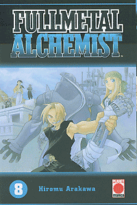 Fullmetal Alchemist, Band 8, Planet Manga
