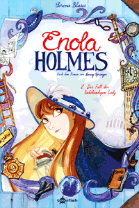 Enola Holmes [comic], Band 2, Der Fall der linkshändigen Lady