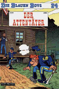 Die Blauen Boys, Band 24, Der Attentäter