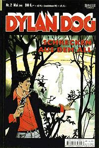 Dylan Dog, Band 2, Schrecken aus dem All
