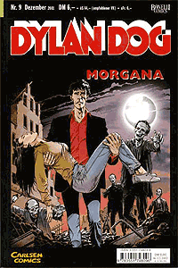 Dylan Dog, Band 9, Schwarzer Klecks
