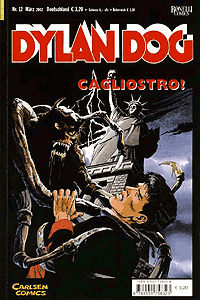 Dylan Dog, Band 12, Cagliostro!