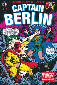 CAPTAIN BERLIN, Band 3, Weissblech Comics