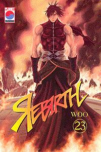 REBIRTH, Wiedergeburt, Band 23, Das Omen der Zerstörung, Angriff auf die Erde, . . .