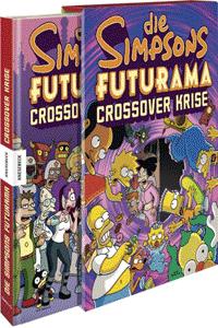 Die Simpsons Futurama Crossover Krise, Einzelband, Knesebeck Verlag