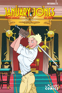 JANUARY JONES [comicroman], Band 3, Kult Comics