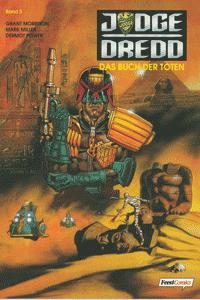 Judge Dredd, Band 3, Das Buch der Toten