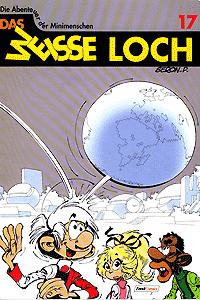 Die Abenteuer der Minimenschen, Band 17, Das weisse Loch