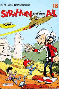 Die Abenteuer der Minimenschen, Band 18, Strahlen aus dem All