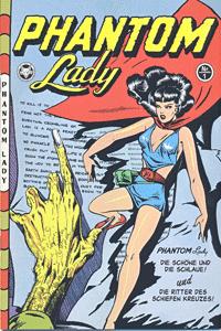Phantom Lady, Band 1, Die Sch�ne und die Schlaue | Die Ritter des schiefen Kreuzes