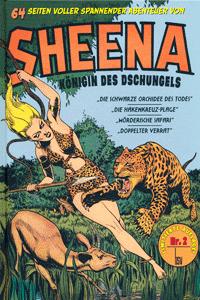SHEENA, Band 2, K�nigin des Dschungels