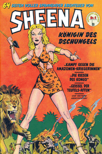 SHEENA, Band 4, BSV Verlag