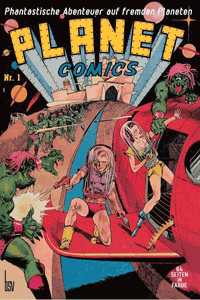 PLANET COMICS, Band 1, BSV Verlag
